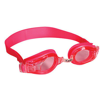 Kids Pink Swimming Goggles Girls Adjustable Anti Fog UV Protection Swim Glasses