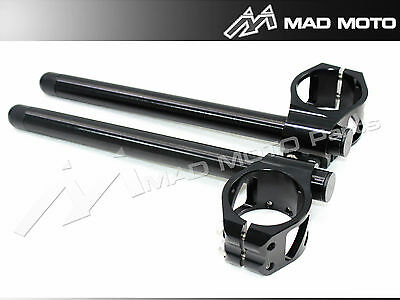 Motorcycle 7 Degree Angle Clip on with handle bar BMW S1000RR / HP 4 Black color