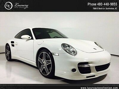 2007 Porsche 911  Turbo Tiptronic S Heated Seats Colored Console 08 09