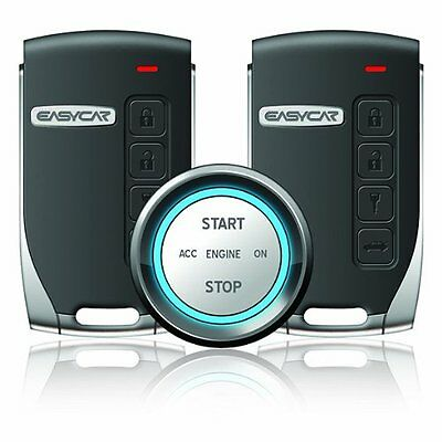 Push Button Start with Remote Start Alarm System by Easycar-USA