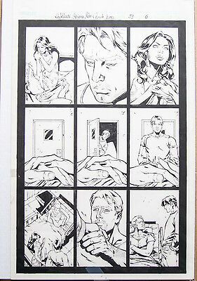 ORIGINAL WITCHBLADE 99 page 6 BENES ART!  LOVE TRIANGLE!