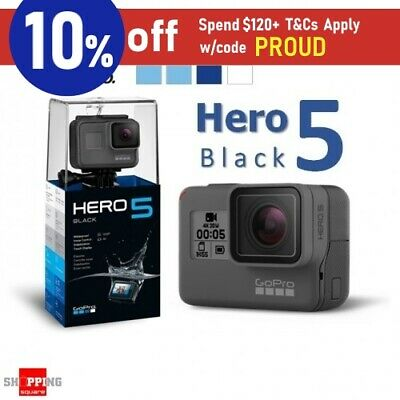 GoPro Hero 5 4K Ultra HD Waterproof WiFi Sports Action Camera Black *AU WTY*