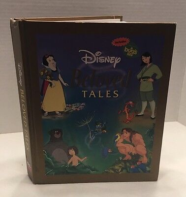 Disney's Beloved Tales Classic Children's Stories 2003 Hardcover Illustrated