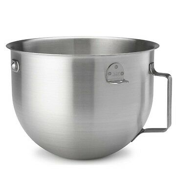 KitchenAid KN25NSF 5 Qt Commercial Steel Mixer Bowl with Handle fits KM Models