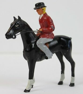 """c40s Lead FoxHunt Lady on Horse"""