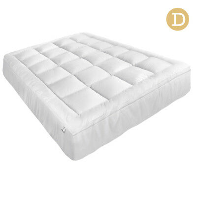Pillowtop Mattress Topper Memory Resistant Protector Pad Cover Double