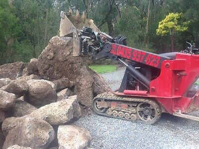 TORO, VERMEER, DINGO MINI DIGGER - 870mm / 87cm WIDE. 20 H/P VTWIN. DOES ALL