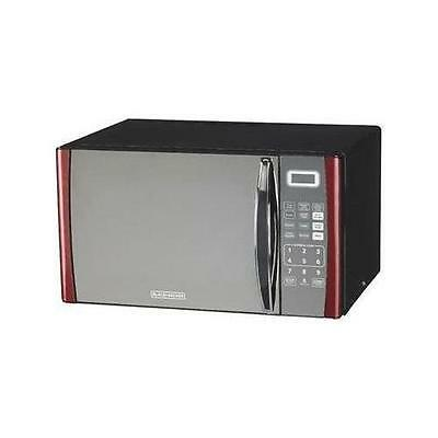 Midea Em925anqp2 Black&Decker 9CF Microwave Oven, Red