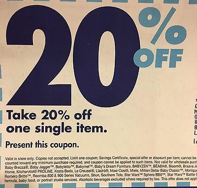 Bed Bath And Beyond Lot Of 50 20 Off Coupons 8 99 Picclick