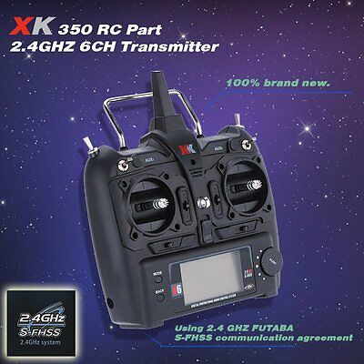 XK X6 2.4GHz 6CH Transmitter for XK X350 K100 K110 K123 RC Quadcopter