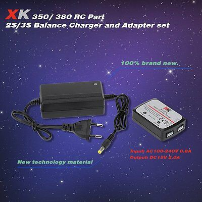 XK X380-016 Balance Charger and Adapter for XK X380 XK350 RC Quadcopter