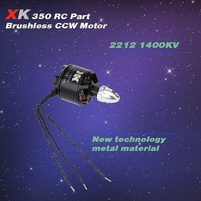 XK X350-007 2212 1400KV Brushless CCW Motor for XK X350 RC Quadcopter