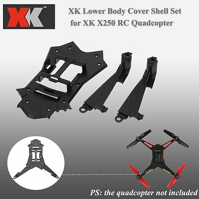 XK X250-012 Lower Bottom Body Cover Shell Set for XK X250 RC Quadcopter