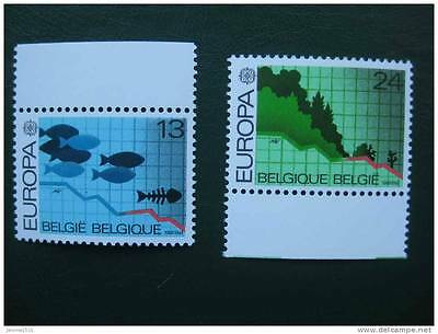 timbres belges : europa 1986 **