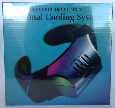 Sharper Image Personal Cooling System New Sealed Si526
