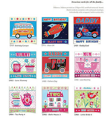 100 Wholesale Greetings Cards 'OCCASIONS' - Top Quality