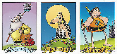 Groo Trading Cards Complete Base Set