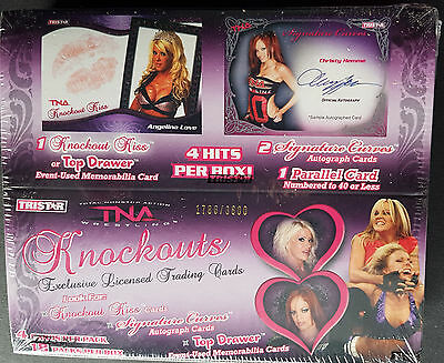 2009 Tristar TNA Knockouts Wrestling Hobby Box LIMITED & Numbered BOX!! 4HITS!!