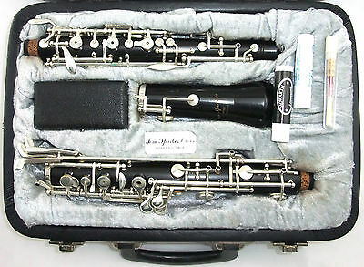 CUSTOM MADE BLACK WOOD OBOE made by Tom Sparkes Australia