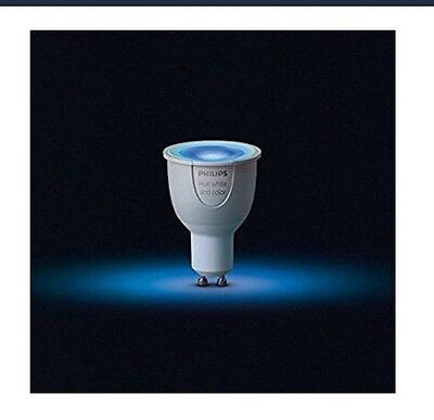 Philips 456681 Hue White and Color Ambiance Extension  Bulbs, 2nd Gen GU10