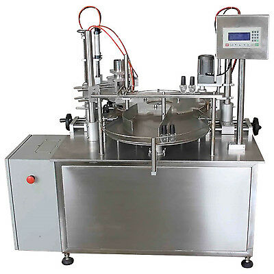 Automatic Bottle Filling and Capping Machine Filler Capper UK Manufactured