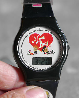 2005 I Love Lucy plastic wristwatch. Fresh battery as of August.