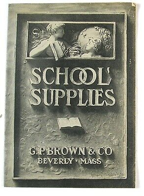 1910 School Supplies Trade Catalog With Prices and Some Illustrations