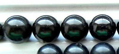 Black Onyx Half Drilled Beads or Tear Drop  All natural color