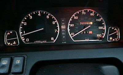 Rover 216 GTi, 220 GTi, 220 Coupe Turbo Alloy Speedo Rings