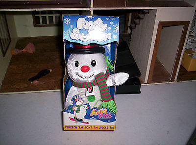 Slinky Pets Frosty Snowman 1989 Very Rare Unique For Slinky Lover New W/Box
