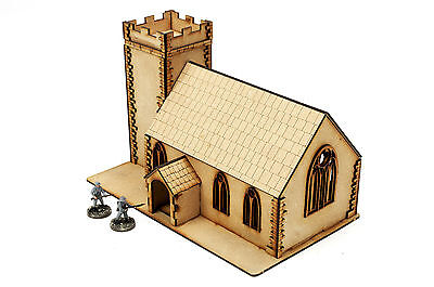 Wargames Terrain WW2 Church – 28mm scenery Bolt Action