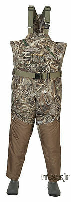 Banded Uninsualted Breathable Waders Max-5 Camo Size 13 King Duck Hunting New!