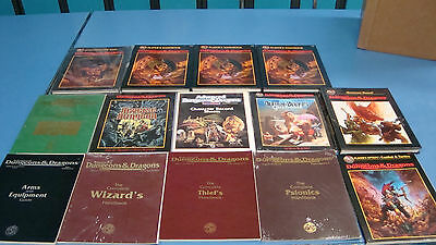 Beautiful 13x D&D Collection Unused Advanced Dungeons and Dragons 2.0 Bonus