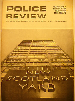 POLICE REVIEW WEEKLY NEWS 14TH SEPTEMBER 1973 ex and original