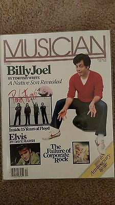 BILLY JOEL, PINK FLOYD, ELVIS - Musician Magazine - Dec. 1982