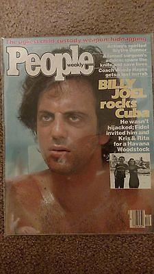 BILLY JOEL ROCKS CUBA - People - March 1979