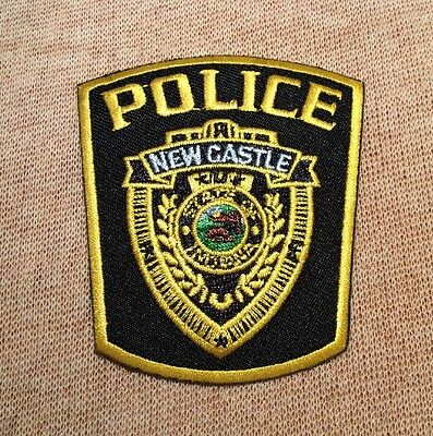 IN New Castle Indiana Police Patch (3In)