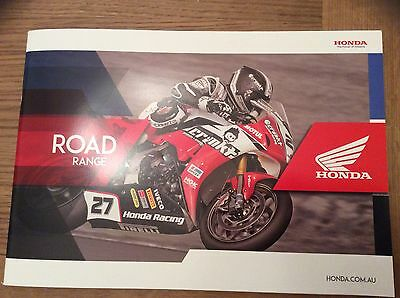 Honda 2017 Motorcycle Range Brand New 36 Pages Booklet Features 22 Bikes.