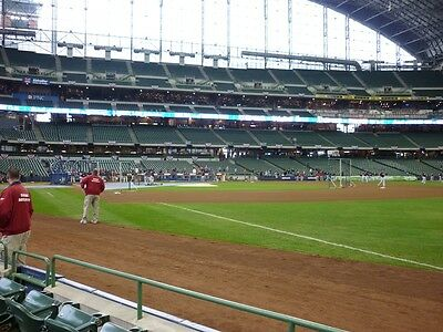 2 Tickets Milwaukee Brewers vs Boston Red Sox 5/11
