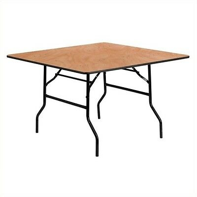 """Flash Furniture 48"""" Square Wood Folding Banquet Table Tables"""