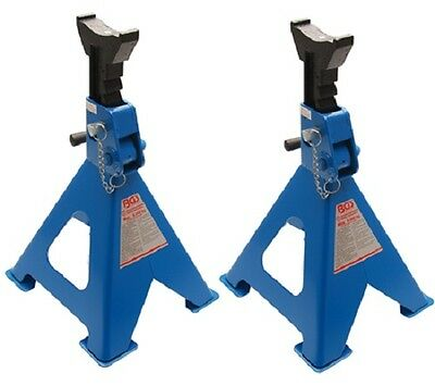 2 Support trestles Safety Stand 2 to. BGS technic 3014