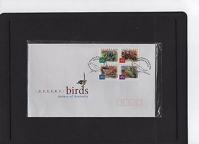 2001 Desert Birds First Day Cover Excellent as new