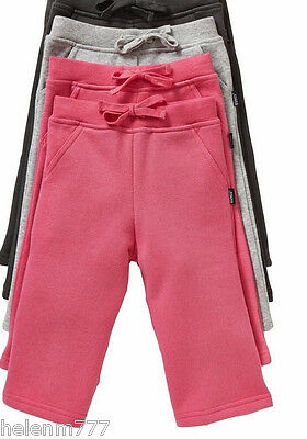 New Baby Bonds Boy / Girl Everyday Hot Pink or Grey 'Trackie' Fleece Track Pants
