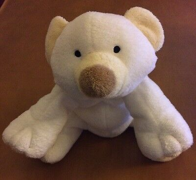 Ty Pluffies White Bear Named Cloud from 2002