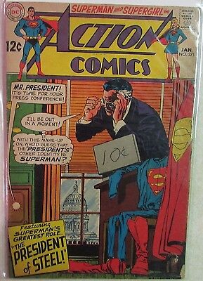 DC Comics - Action Comics Issue #371 - Silver Age -1960s - Superman & Supergirl