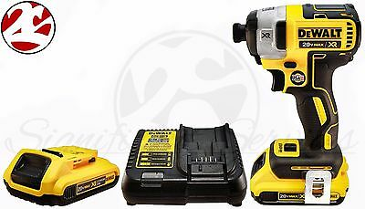 "DeWALT DCF887 20V MAX XR Li-Ion Brushless 3-Speed 1/4"" Impact Drill Driver Kit"