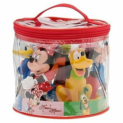 Mickey Mouse & Friends Squeeze Toys Bath Tub Pool Disney World Theme Parks NEW