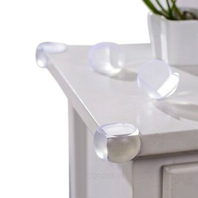 4PCs Corner Edge Furniture Protectors Soft Safety Protection Baby Proof Cushion