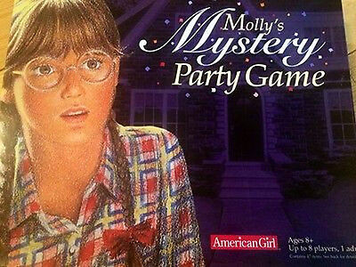 American Girl - Molly's Mystery Party Game - Board Game