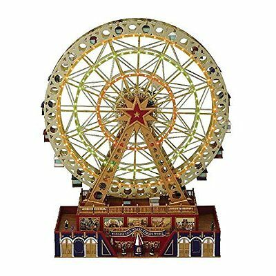 MR CHRISTMAS World's Fair GRAND FERRIS WHEEL Music Box NEW Lighting Effects